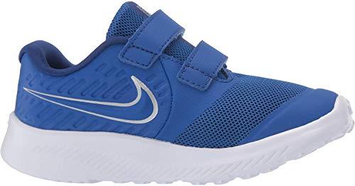 Nike Star Runner 2 (TDV), Zapatillas de Gimnasia Unisex bebé, Azul (Game Royal/Mtlc Silver/Deep Royal Blue 400), 21 EU