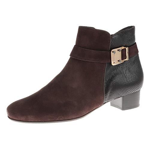 Hassia Damen Schuhe Stiefel Genua Weite K Espresso Braun Brown 23034662000 (4 UK)