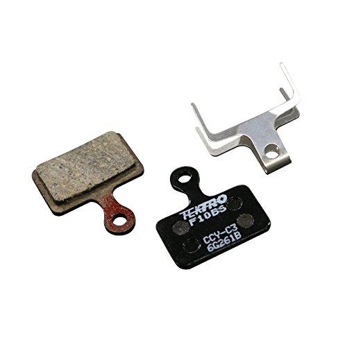 Tektro, Scheibenbremsbelag aus Metall, Keramik, 2er-Set, F10BS