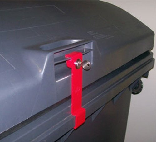 *Müllcontainerverschluss, 1100 Liter für Weber/Sulo, Deckel im Deckel*