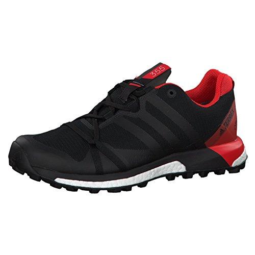 Adidas Terrex Agravic GTX, Zapatillas de Trail Running Hombre, Negro (Negbas/Carbon/Roalre 000), 42 2/3 EU