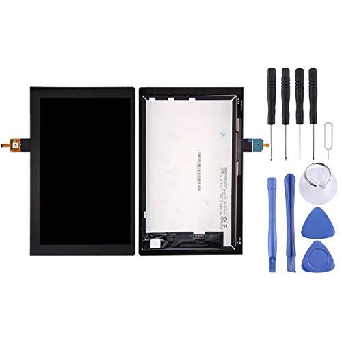 YGMOTO Amo Pantalla LCD de AYD y Montaje Completo de digitalizador para la pestaña de Yoga Lenovo 3 10 Pulgadas / YT3-X50F (Color : Black)