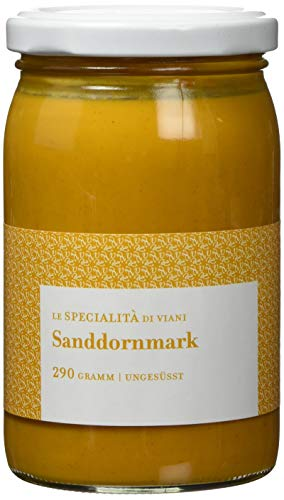 Le Specialità di Viani Sanddornmark, 100 % Frucht, 2er Pack (2 x 290 g)