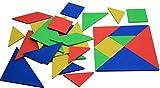 farbiger Tangramsatz, 28 Teile
