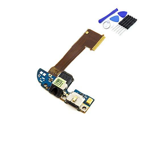 kaputt.de Dock Connector für HTC ONE M8 LADEBUCHSE   MIKROFON   KOPFHÖRER-BUCHSE Platine inkl. DIY Reparatur-Set