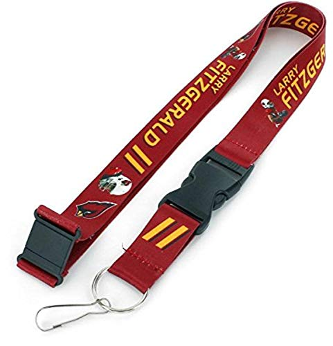 NFL Arizona Cardinals Larry Fitzgerald Players Action Lanyard, Players Action Lanyard, Washington Redskins, 6