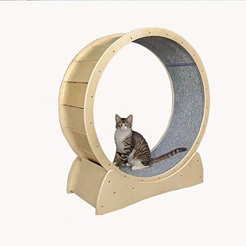 N\\A Tapis roulant Silenzioso, Tapis roulant Giocattolo per Gatti Rotondo Ruota Grande Animale Domestico Che corre per Gattini Gatti e Animali Domestici
