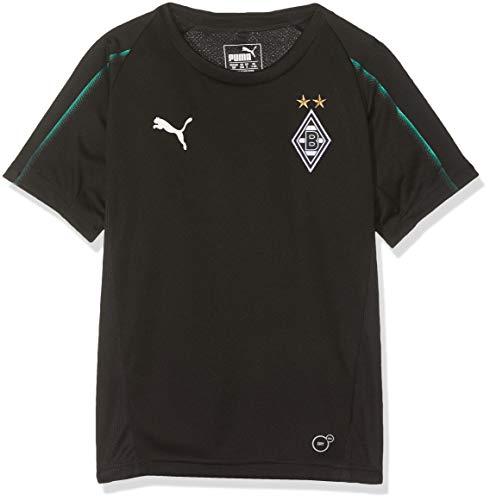 PUMA Kinder BMG Without Sponsor Logo Training Jersey, Black, 140