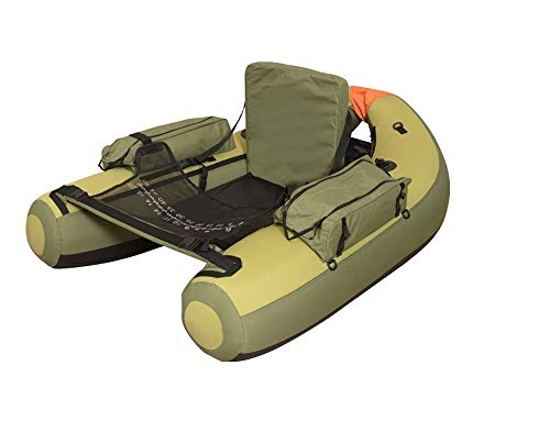 Wistar Inflatable Fishing Pontoon Float Tube with conformable Padded seat Loading Capacity 350lbs