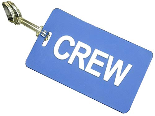 Gelflex Crew Tag with Contact Card (Navy Blue)