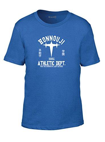 Honnouji Athletic Department, Camiseta de los niños de la moda, Azul Real/Blanco,...