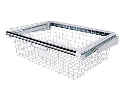 Rubbermaid FG3J0503WHT Configurations Sliding Basket - White