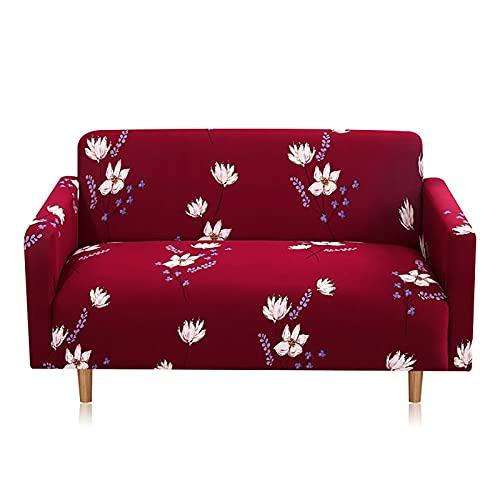 WXQY Funda de sofá con Estampado geométrico, Funda de sofá elástica de Esquina para Sala de Estar para Mascotas, Funda de sofá Chaise Longue en Forma de L A3 1 Plaza