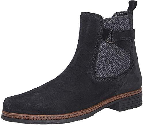 Gabor Damen Chelsea Boots, Frauen Stiefeletten,Wechselfußbett,Best Fitting, halbstiefel Bootie Schlupfstiefel,Pazifik,36 EU / 3.5 UK