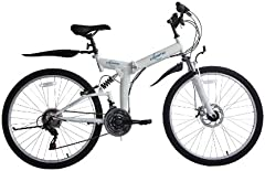 Bicicleta de MontaÑA Para Mujer, Ecosmo 21Sp Shimano - 26Sf02Bl Plegable, 66 Cm, de la Marca Shimano
