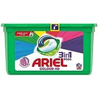 Ariel Todo en Uno Pods, Color Detergente en Cápsulas 38 Lavados, con Lavado a 20 °C y Perfume Duradero