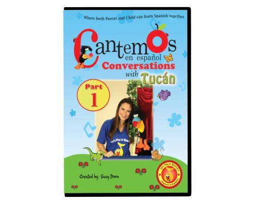 Cantemos en Español Conversations with Tucán Part 1 DVD