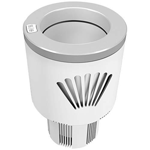JCJ-Shop Tragbare Mini-Autotassenwärmer Kühler Smart Combo Autotassen Kühlschrank Getränkebecherhalter Kühlung Heizung Getränkedosen Kaffee in Minuten 12V Auto Electric Cup Getränkehalter