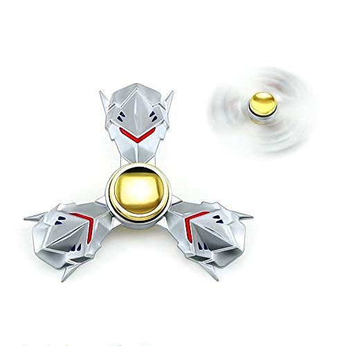 OW. Rond het spel Valkyrie Avatar Metalen vingertop-gyroscoop Decompressie speelgoed Vinger speelgoed EDC gyro tijd te doden stress loslaten Draai lang Verlicht ADHD Speelgoed cadeau... Drehen Sie das