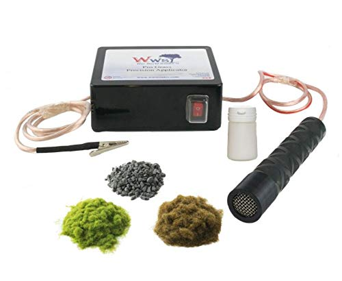 War World Scenics - Kit Cargadero ferroviario con Aplicador Pro Grass de precisión – Modelismo Ferroviario, Belenes, Paisaje Maquetas, Naturaleza Miniatura, Dioramas, Paisajismo Miniatura, Wargames
