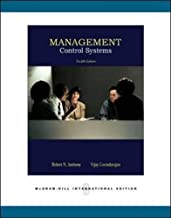 Management Control Systems Paperback – International Edition, July 1, 2006