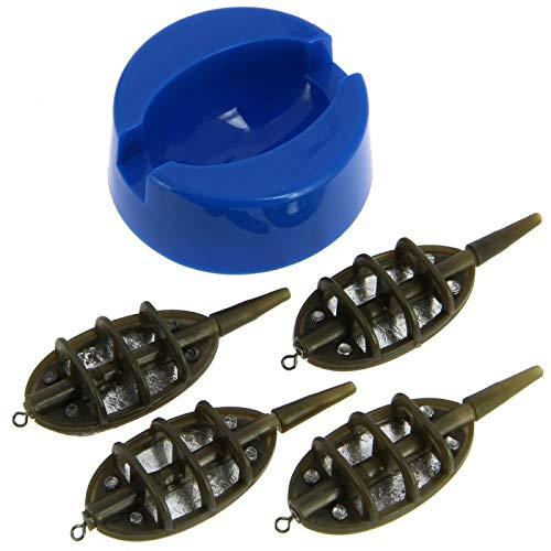 DD-Tackle Method Feeder Set 5 TLG. Inline System 15g/20g/24g/30g Karpfen Blei Futterkorb