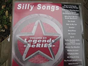 LEGENDS Karaoke CDG #89 SILLY SONGS Comedy Funny cd by Unknown (0100-01-01?
