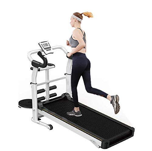 Folding Treadmill Electric Motorized Running Machine 18'' Wide Tread Belt w/Incline LCD Display Easy Assembly with 15 Preset Programs Perfect for Home Use