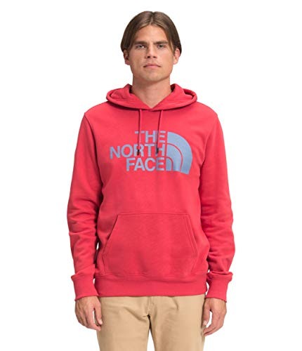 The North Face Men's Half Dome Pullover Hoodie - Hoodies for Men, Rococco Red, S