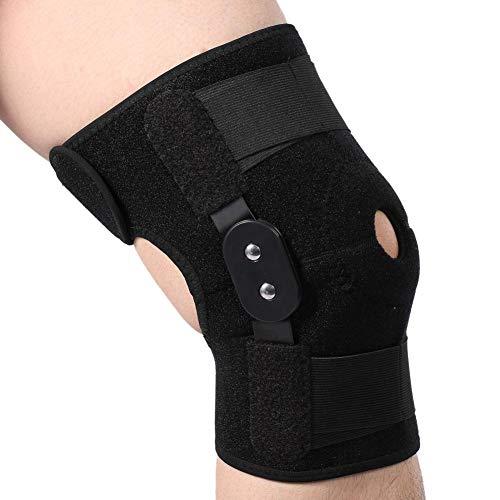 Rodillera de apoyo deportivo protector de piernas para estabilidad, recuperación de la rodilla, apoyo para el tendón de la rótula,soporte de ligamentos, hiperextensión, hombres y mujeres