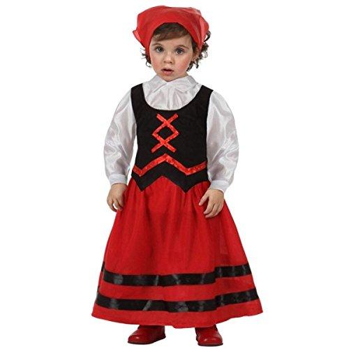Atosa - Pasteur rouge fille 7-9 ans