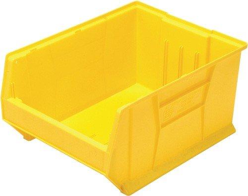 Quantum Storage Systems Hulk Plastic Storage Container Yellow