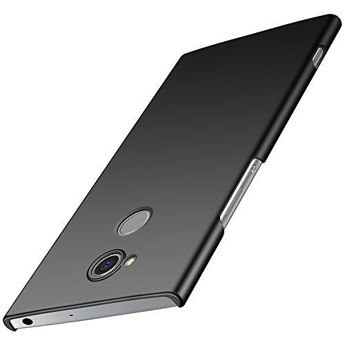 Sony Xperia XA2 Hülle, Anccer [Serie Matte] Elastische Schockabsorption & Ultra Thin Design für Sony Xperia XA2 (Nicht für Sony Xperia XA2 Ultra)-Glattes Schwarzes