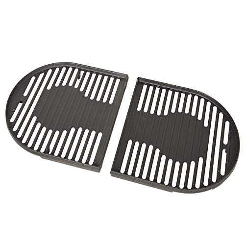 Stanbroil Cast Iron Grill Cooking Grates Replacement Parts for Coleman Roadtrip Swaptop Grills LX LXE LXX, 2 Pack