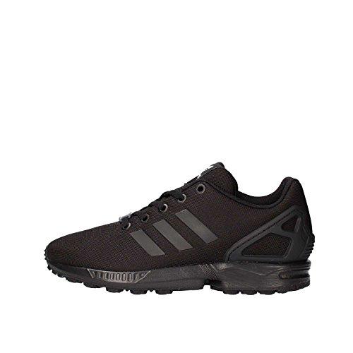adidas Zx Flux J, Scarpe da Ginnastica Basse Unisex-Bambini, Nero (Core Black/Core Black/Core Black 0), 36 EU