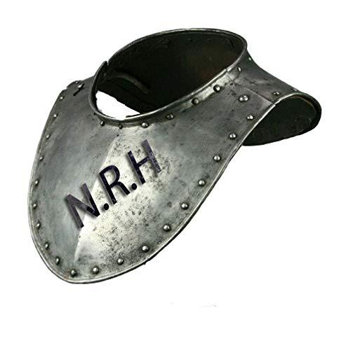 Nautical Replica Hub Medieval Renaissance Armor Gorget Neck Plate 18 Gauge Steel