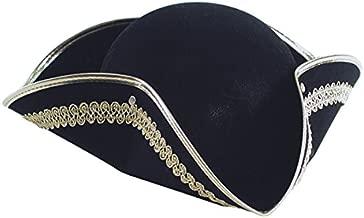 Bristol Novelty Cappello da pirata BH658 Tricorn Donna Rosso Taglia unica