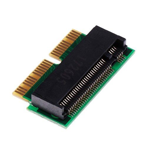 F Fityle 2 + 16pin zu M.2 NGFF M-Key-SSD-Konverter für MacBook Pro-Retina 2014 2015 MF839 MF844