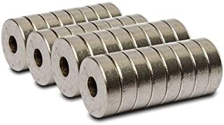 Asiatic 20 Pieces of (Hole) Magnet Organize Your Tools, Make-up, Jewelry, Kitchen, Office, School, Classroom of Fridge Mag...