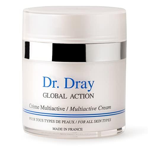 Dray Cosmetics Crema Facial Antiedad Multiactiva con Ácido Hialurónico, Vitamina C y Células Madre Vegetales, 50 ml