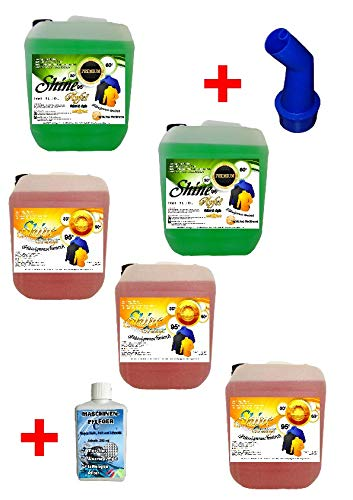 5X 5 Ltr. Set 2X Apfel / 3X Orange + MA Flüssigwaschmittel PE 1,24 € = 1 Ltr. Waschmittel Waschgel