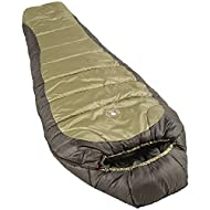 Coleman 0°F Mummy Sleeping Bag for Big and Tall Adults   North Rim Cold-Weather Sleeping Bag