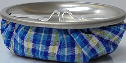 Beanbag Ashtray in BLUE plaid material