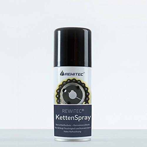 REWITEC 04-7404 KettenSpray, Kettenverschleißschutz für Motorrad- und Fahrradketten