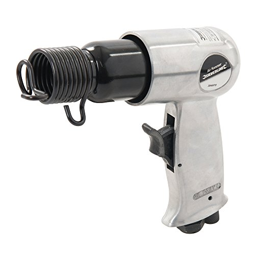 Silverline 394970 - Martillo neumático cincelador (5 pzas)