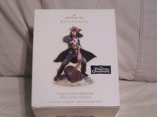 Captain Jack Sparrow Pirates of the Caribbean Christmas Ornament