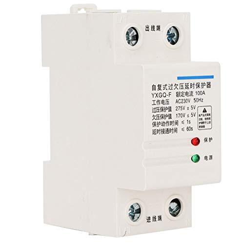 Shipenophy 275V ± 5V Valor de sobretensión 2 Polos 100A Protector de...