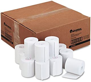 Universal 42300 1-Ply Cash Register/Point of Sale Roll, 16 lb, 1/2