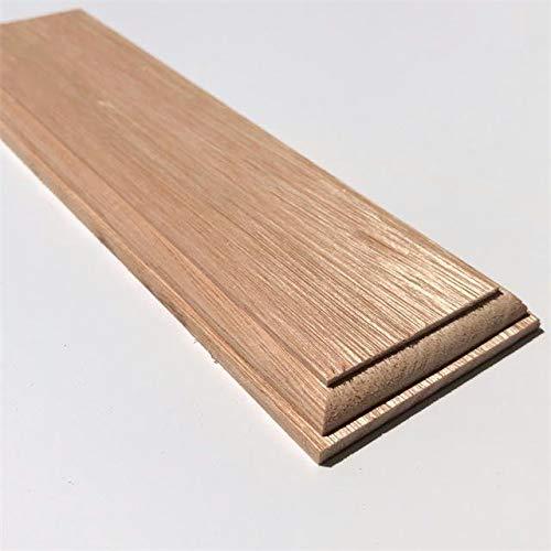 木製飾り台 長方形 ユーカリ 10mmX60mmX200mm P73