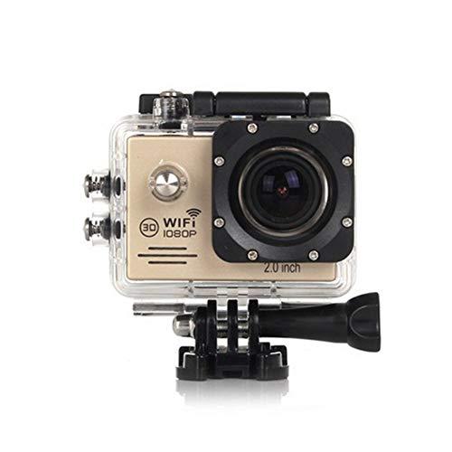 CYYMY 1080p Action Cam,Hyper Stabilizzazione Videocamera, Fotocamera Impermeabile con Funzione,170° Grandangolare,30m con Fotocamera Subacquea Digitale,per Sport e attività,1